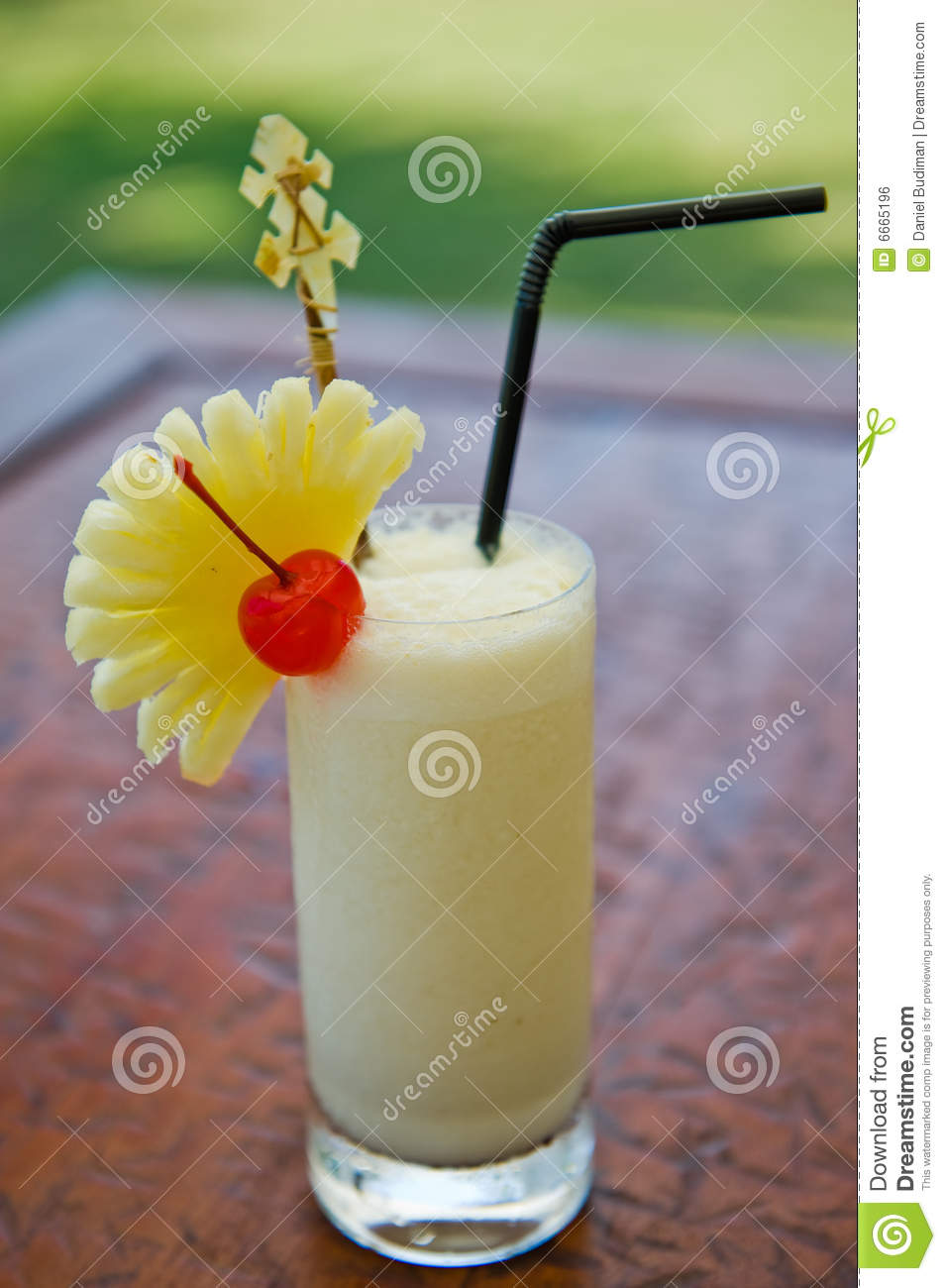 Pina colada cocktail drink stock photo image of party for Cocktail pina colada