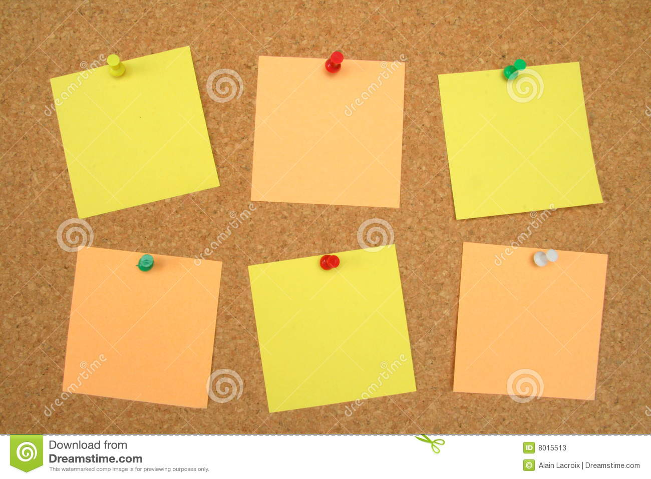 Pinboard notes stock image image of bulletin issue home for Cork board pin display