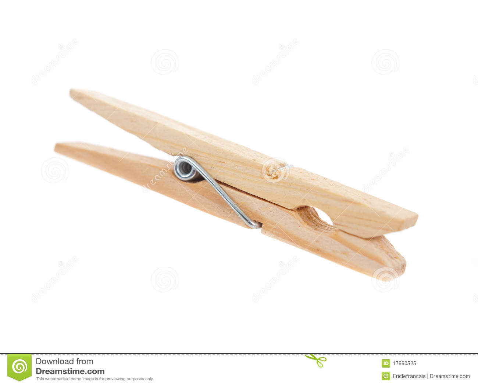 pince 224 linge en bois photo libre de droits image 17660525
