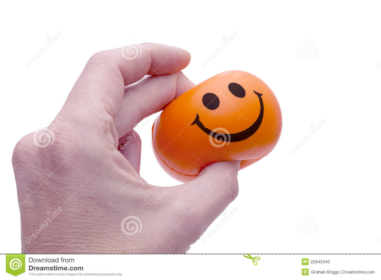pinching some happiness stock image image of palm press 22945345