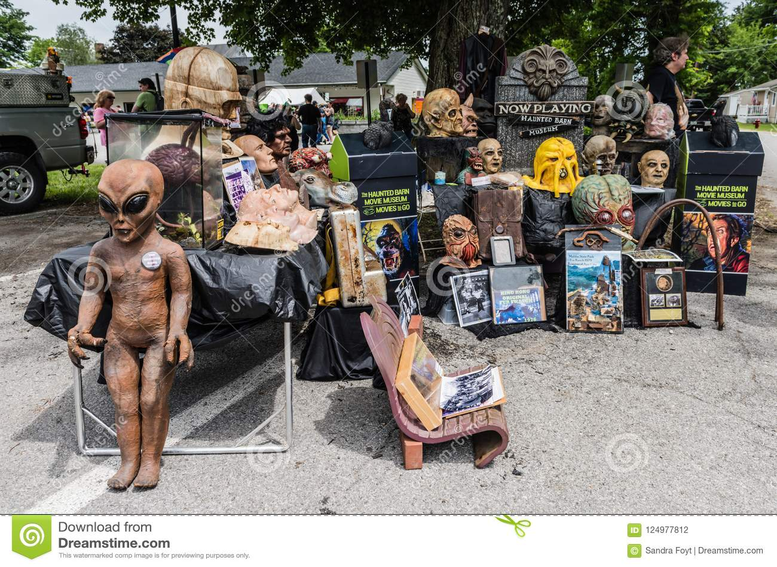 Pine Bush UFO Fair Movie Memorabilia