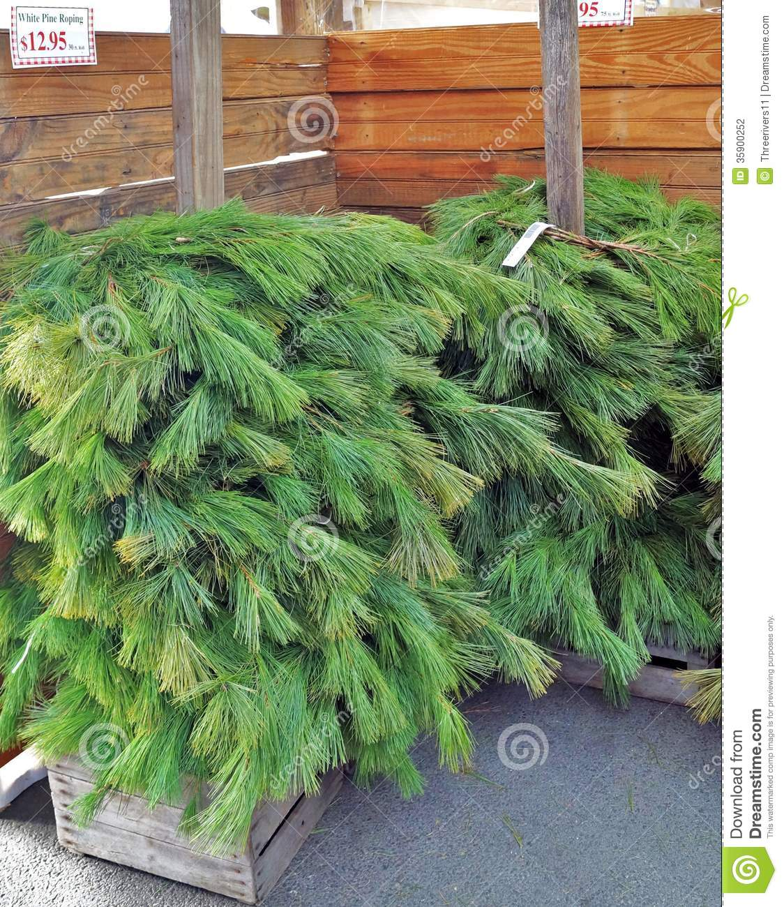 raw pine roping for christmas wreaths - Christmas Garland Decorations Sale