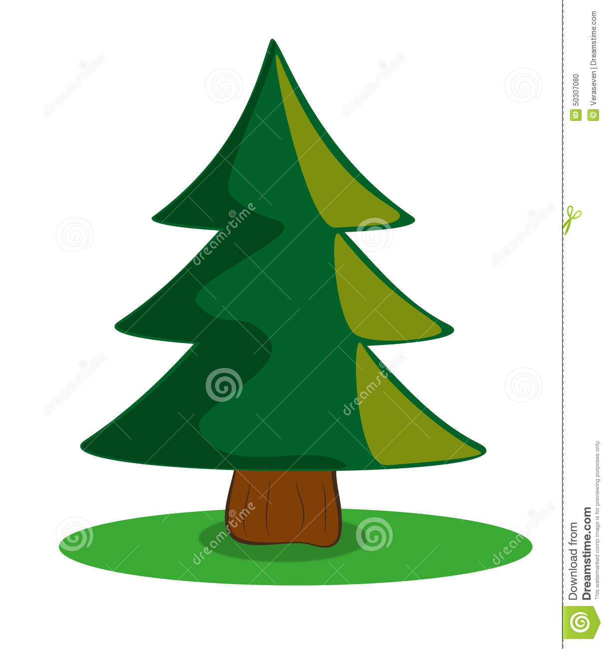 Evergreen Christmas Tree