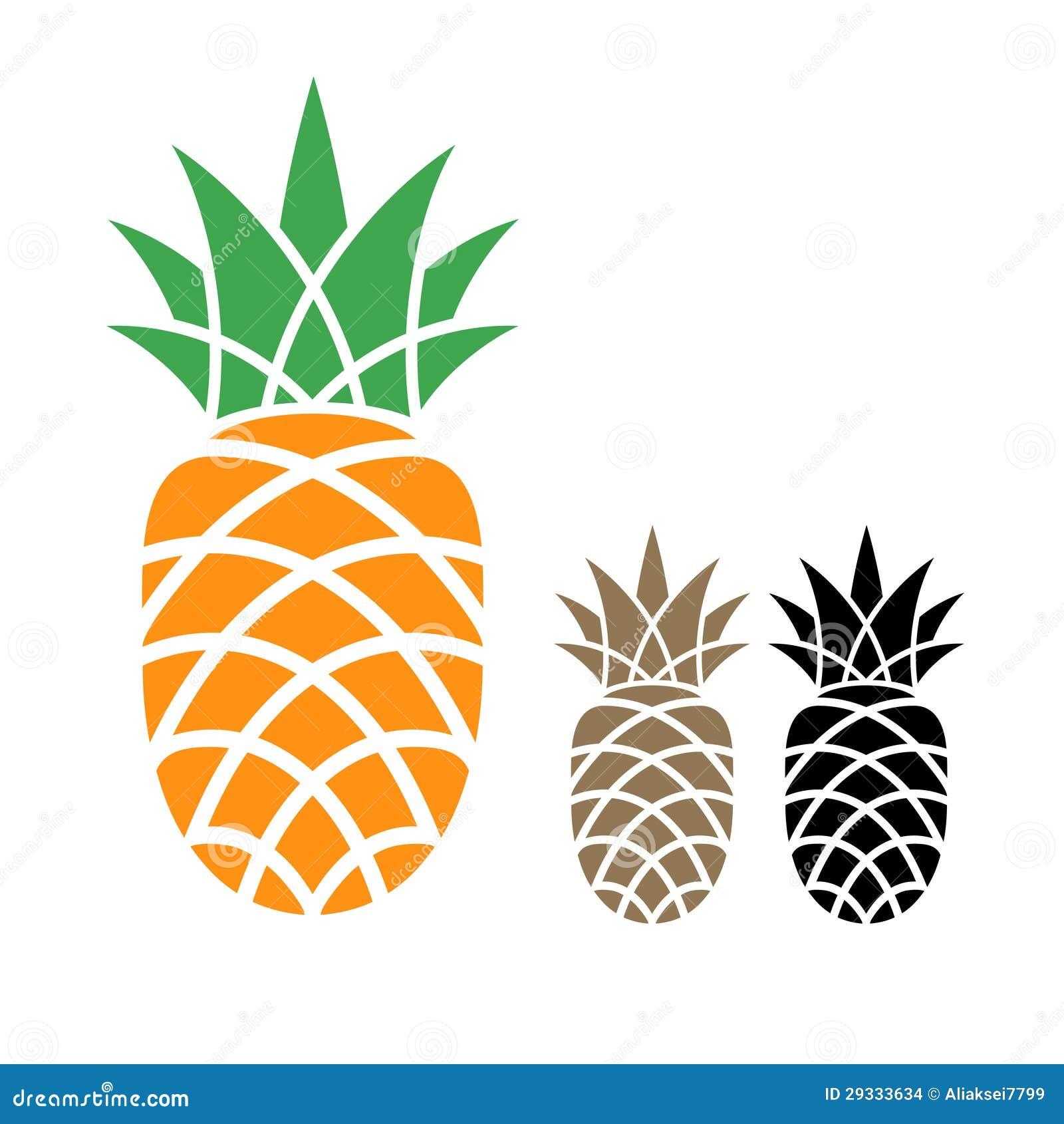 Pineapple stock vector. Illustration of graphic, garden ...