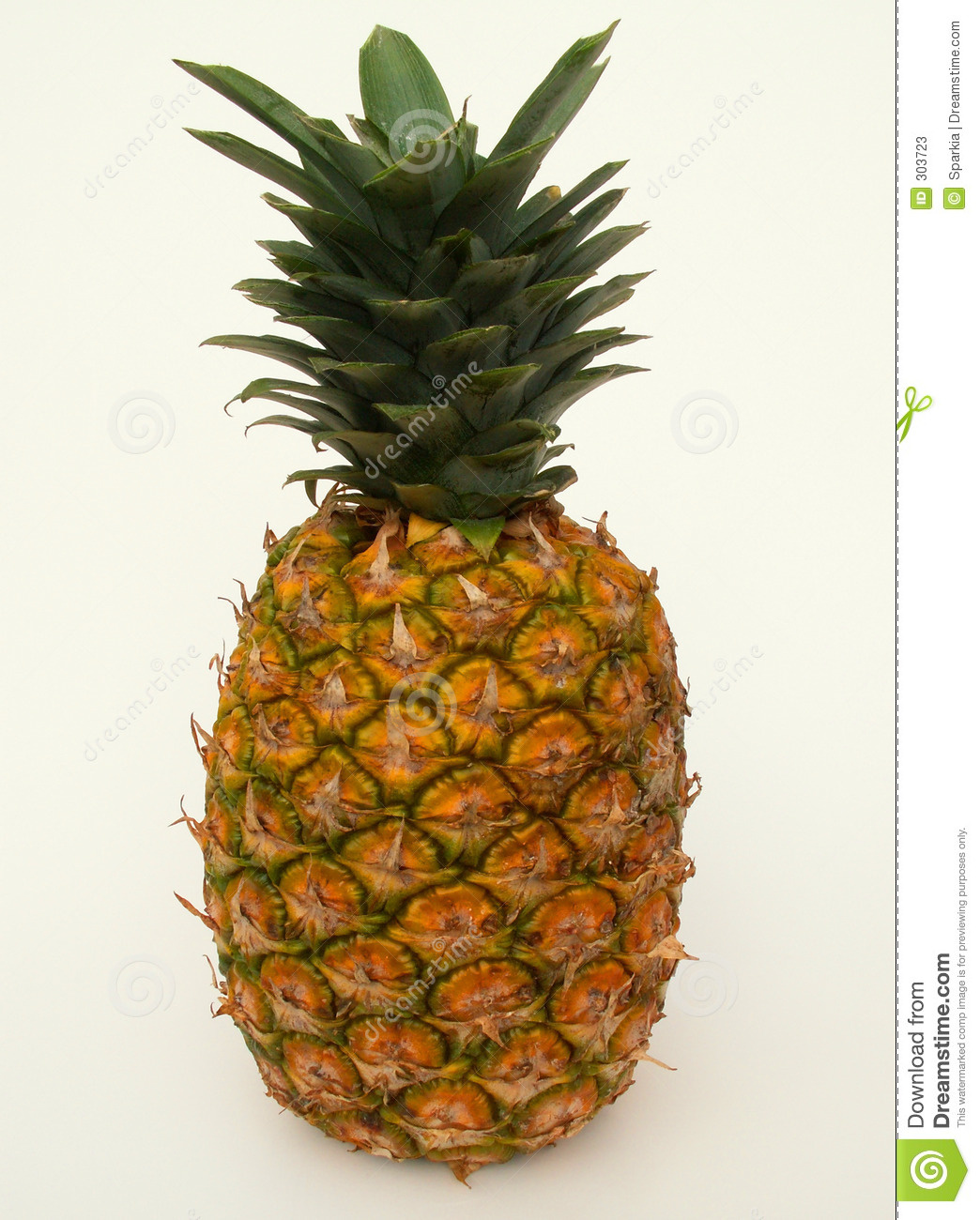 pineapple stock image image of healthy rich acidic