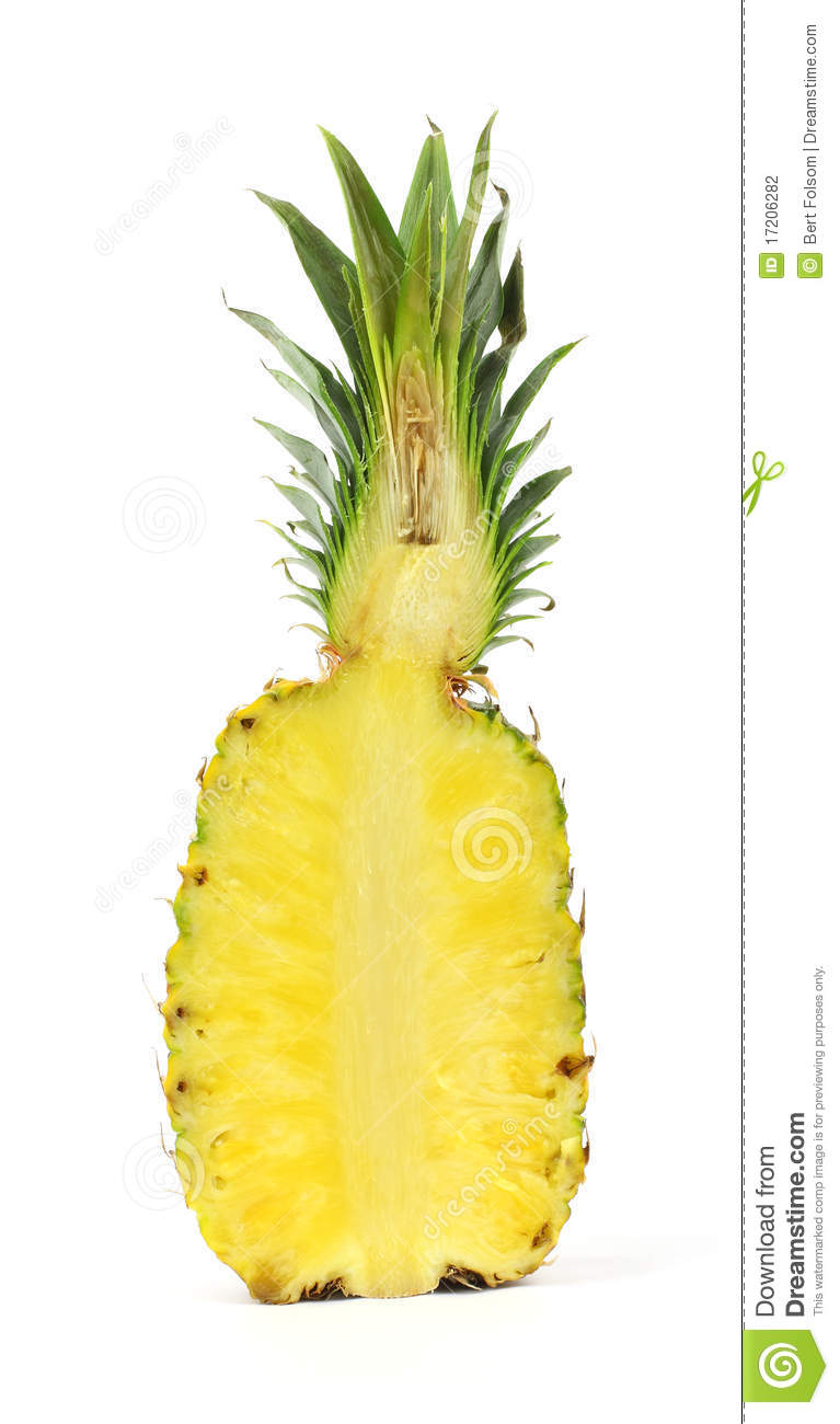 pineapple cut in half stock photography image 17206282 pineapple clip art free pineapple clipart images