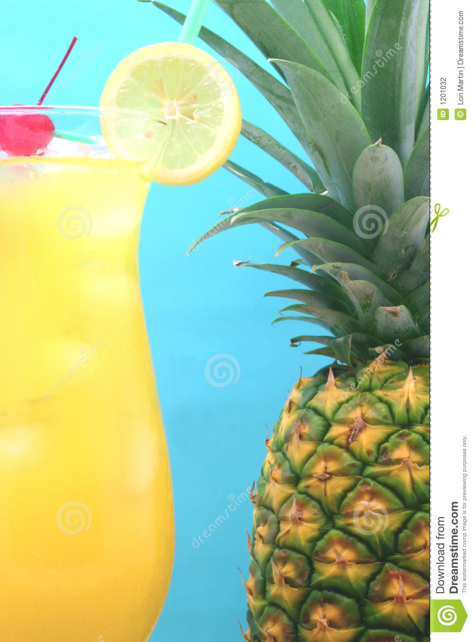 Pineapple and Drink