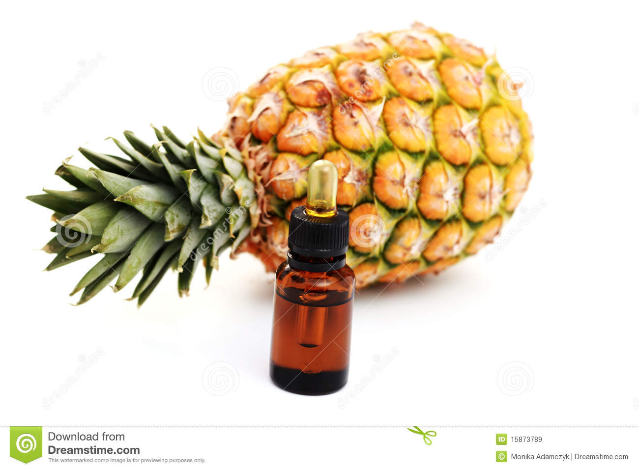 how to make pineapple essential oil