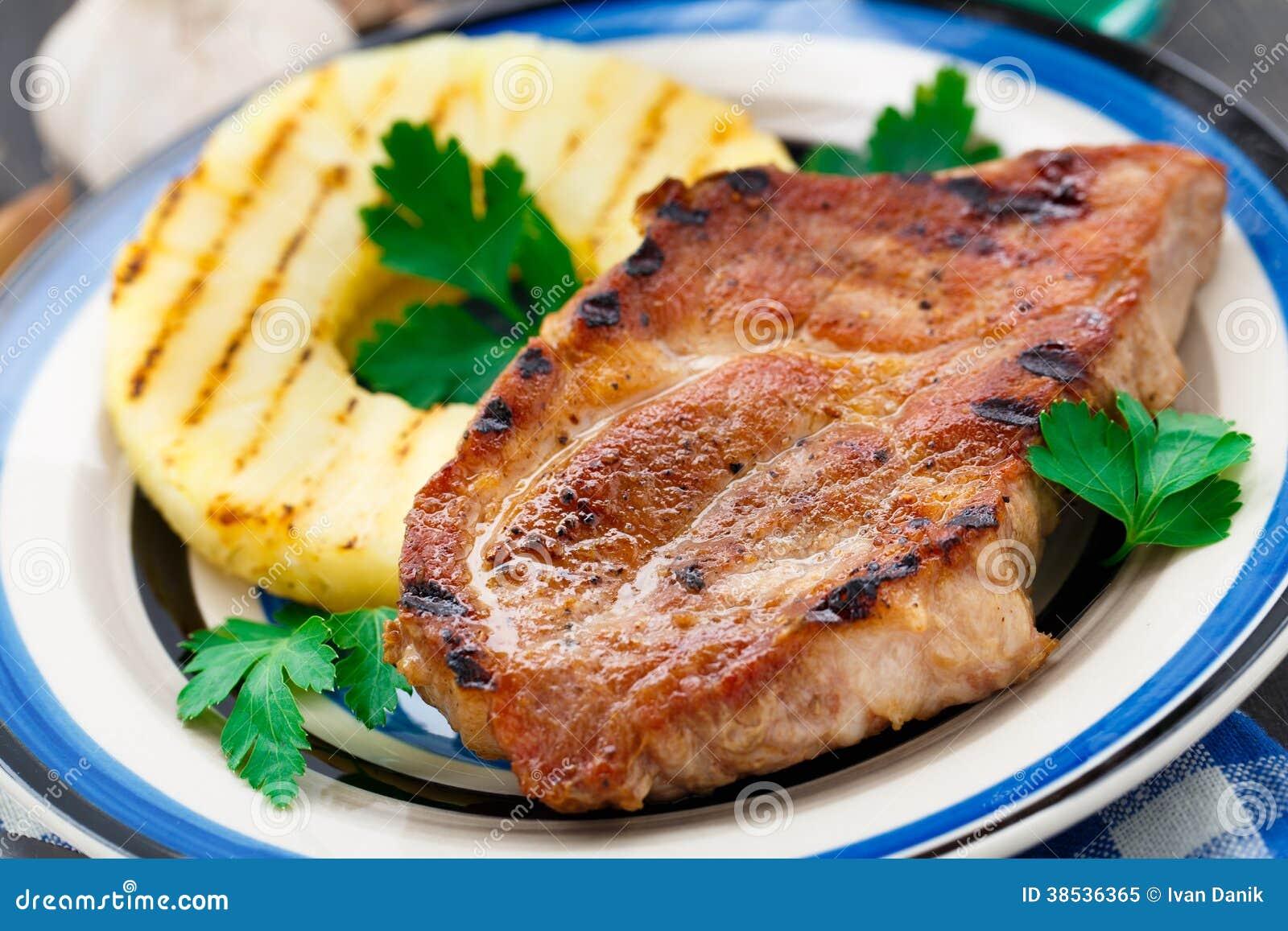 grilled pork chop stock image cartoondealer com 43308817 Pig Roast Silhouette Pig Roast Graphic