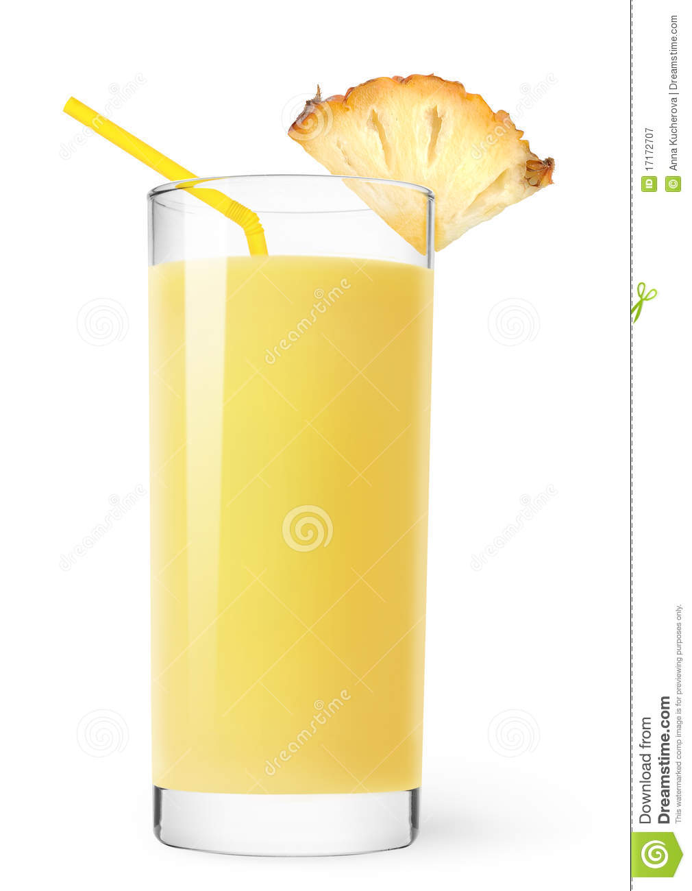 Pineapple Juice Royalty Free Stock Photography - Image: 17172707