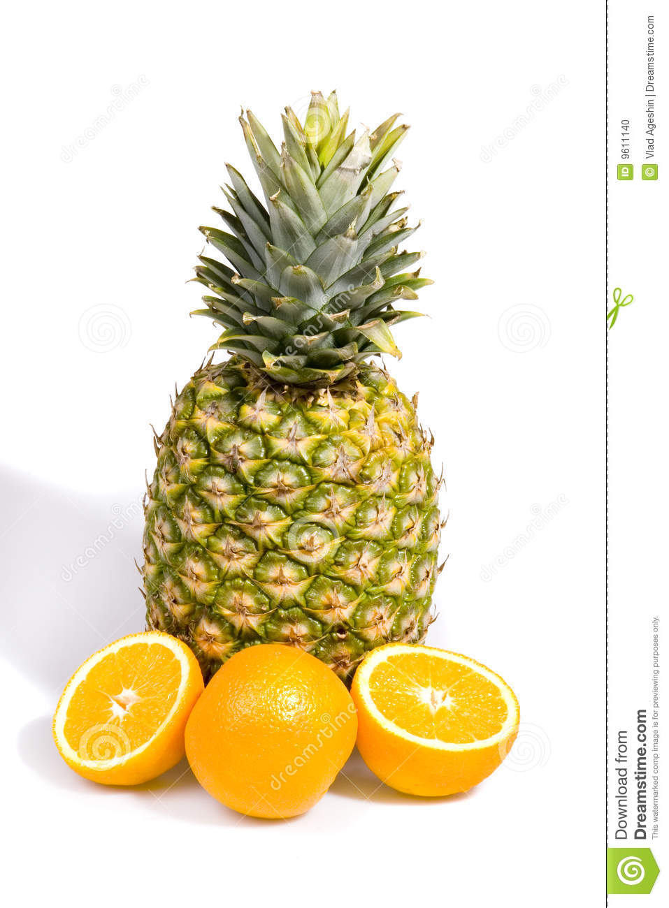 pineapple and orange stock photo image of fruit  tropical clipart oranges and lemons oranges clipart free