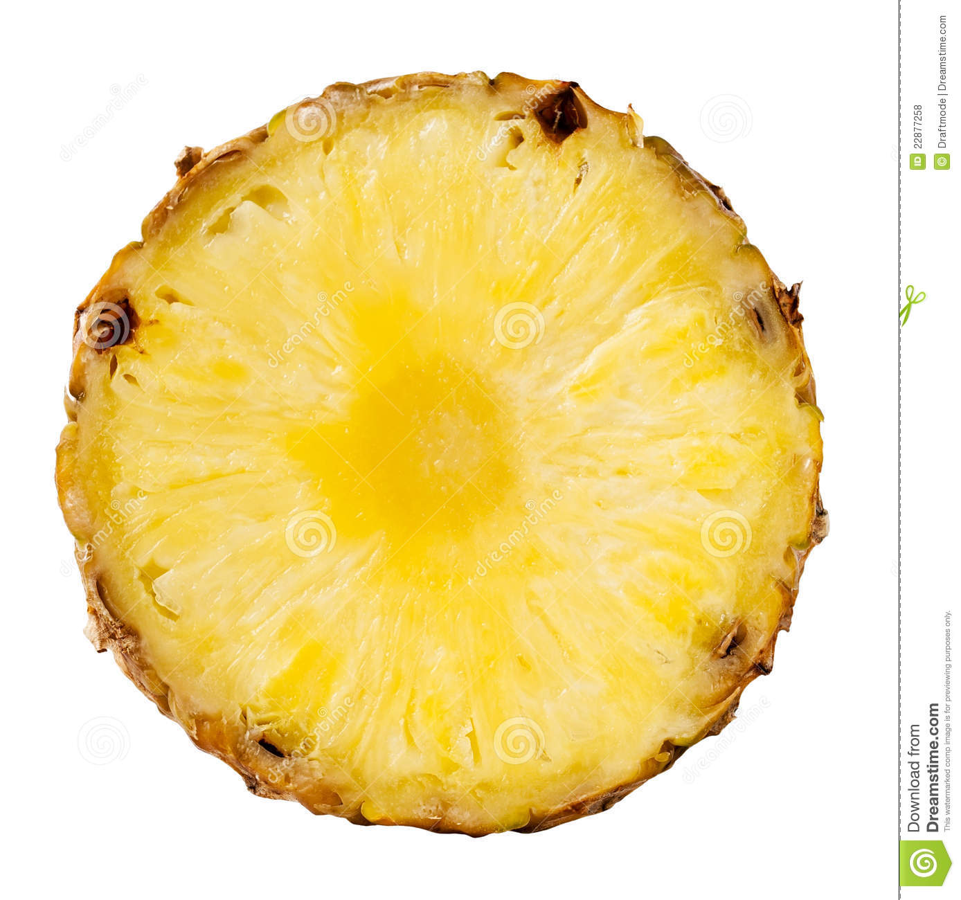 Pineapple Slice Royalty Free Stock Photos - Image: 22877258