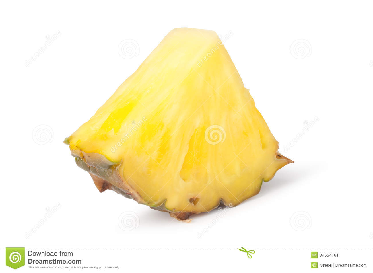 Pineapple Slices Stock Image - Image: 34554761