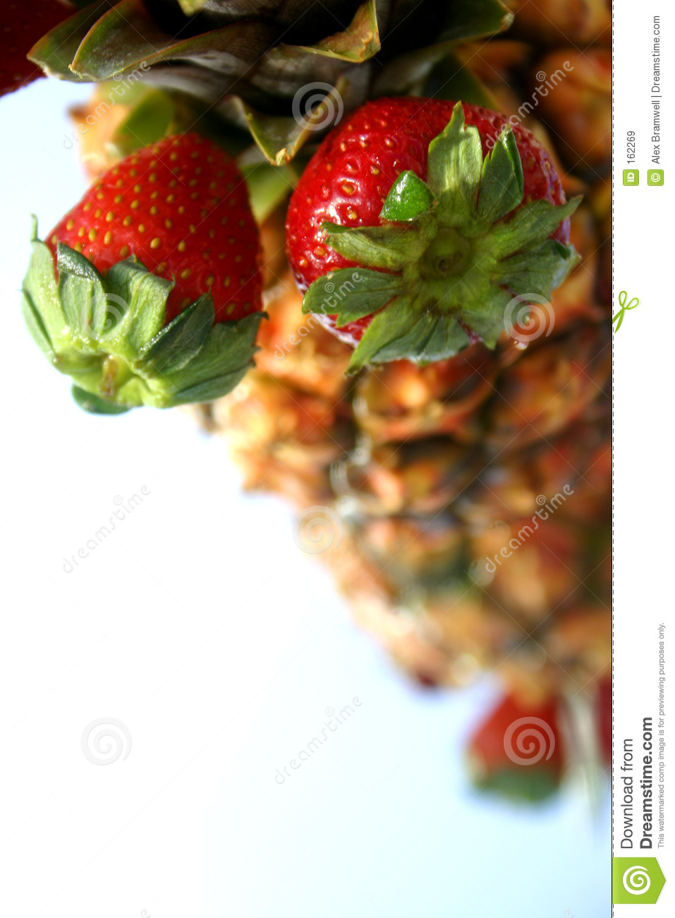 Pineapple Strawberry Display