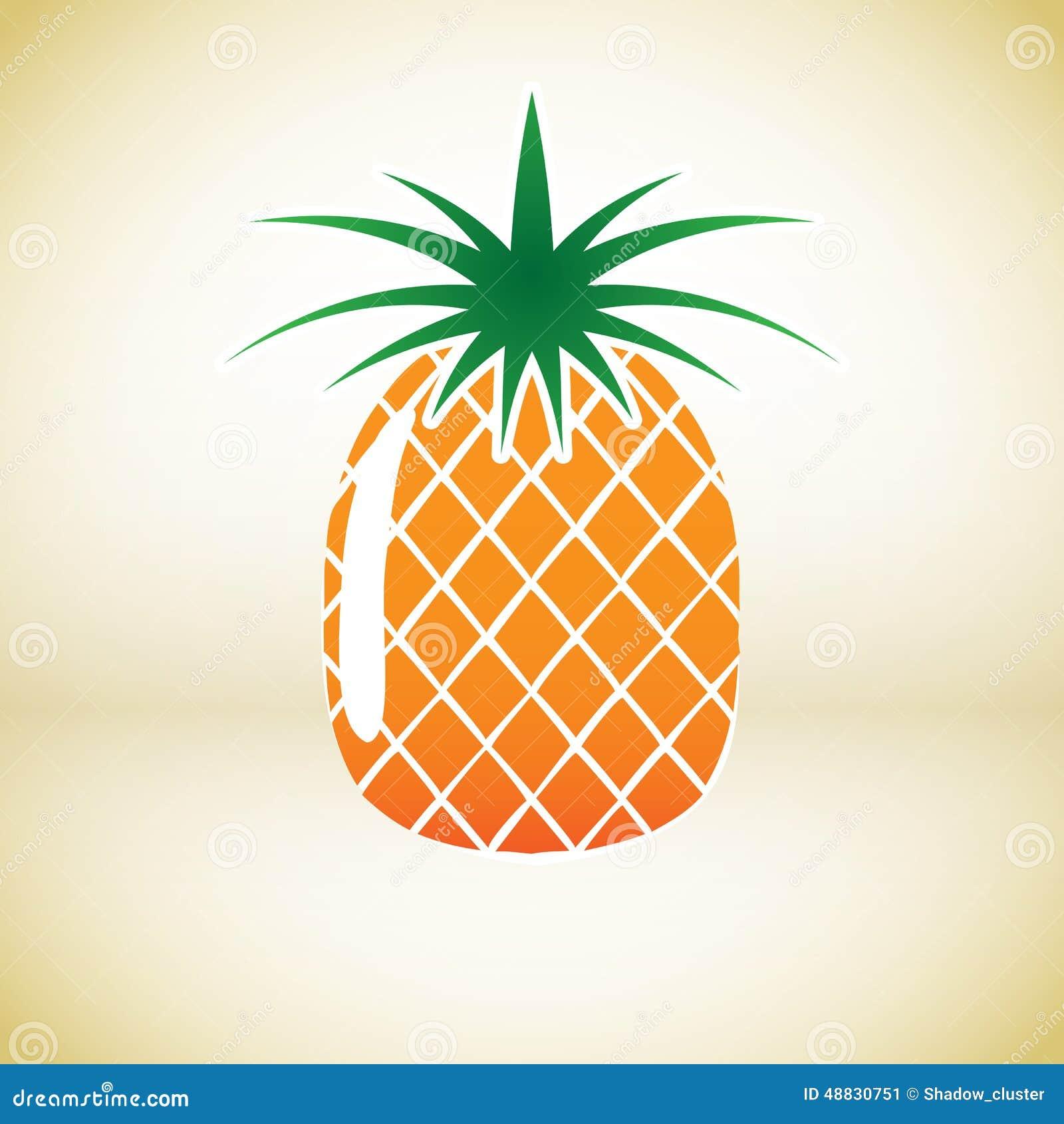 Pineapple vector symbolPineapple Logo Vector