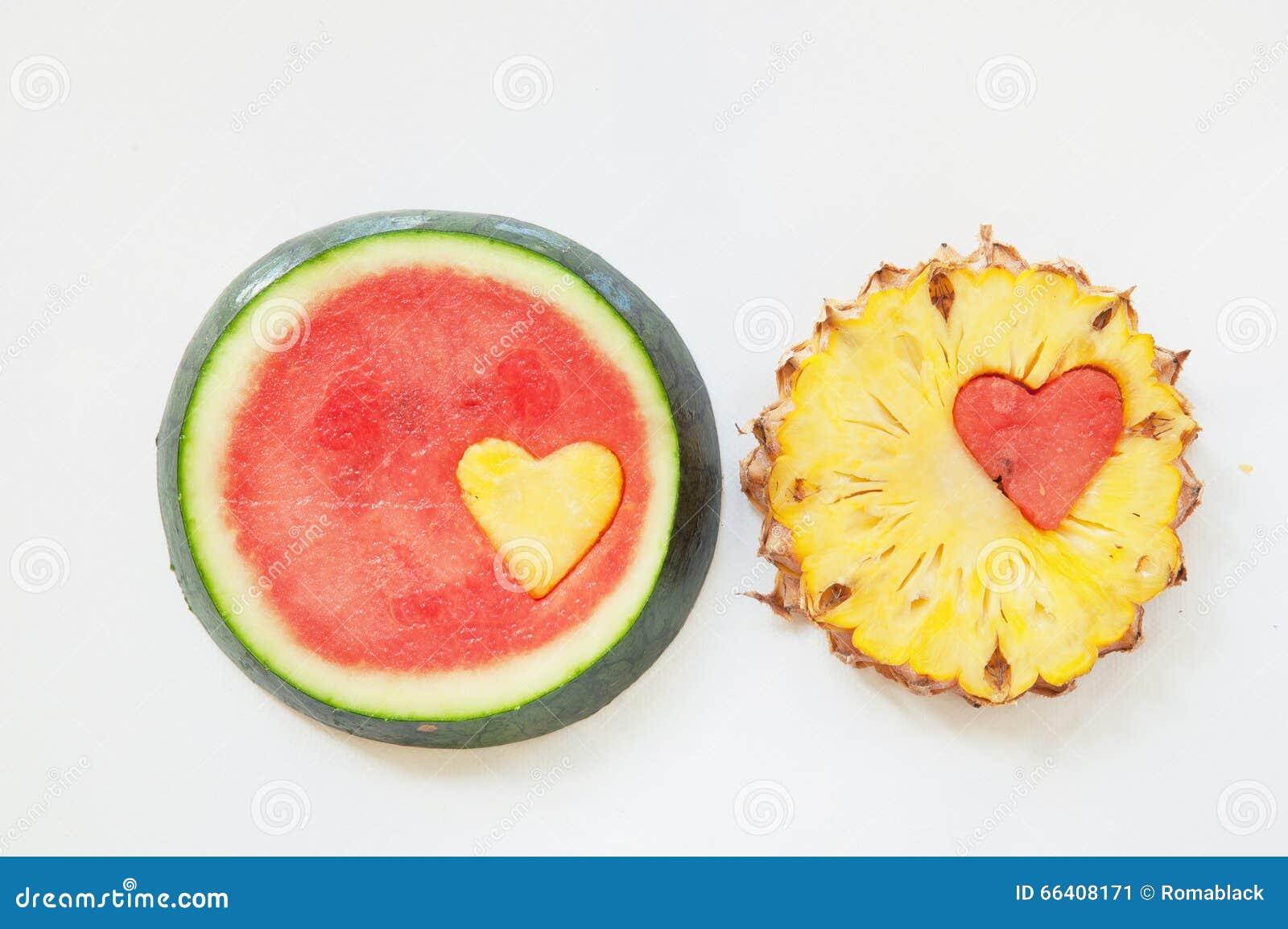 Pineapple watermelon
