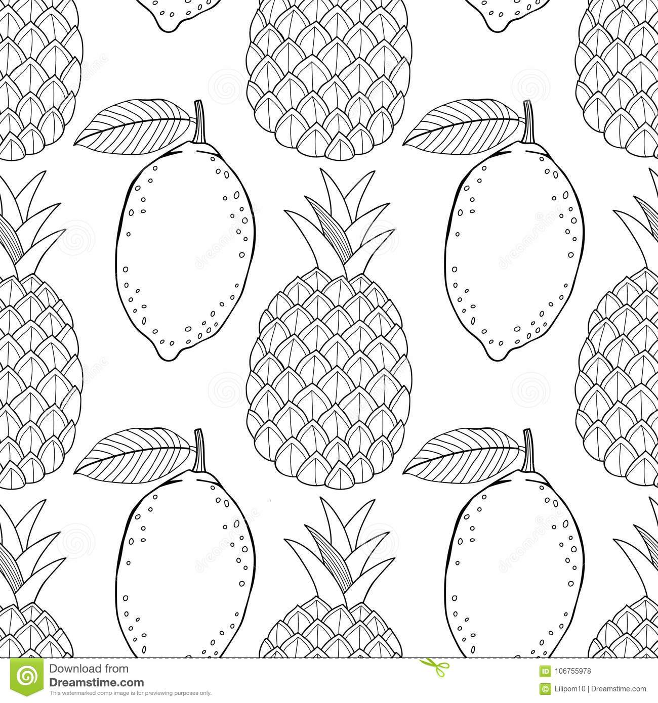 Lemon Coloring Pages - Best Coloring Pages For Kids | 1390x1300