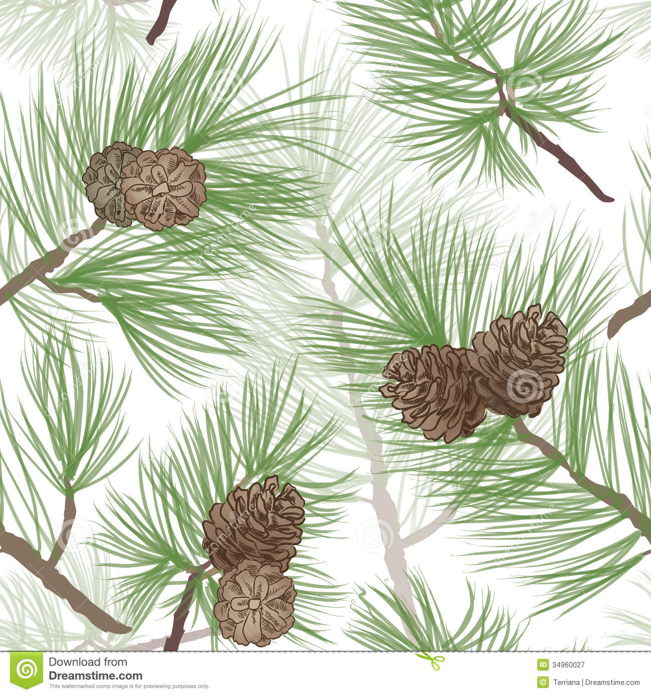 Seamless pine needle texture viewing gallery