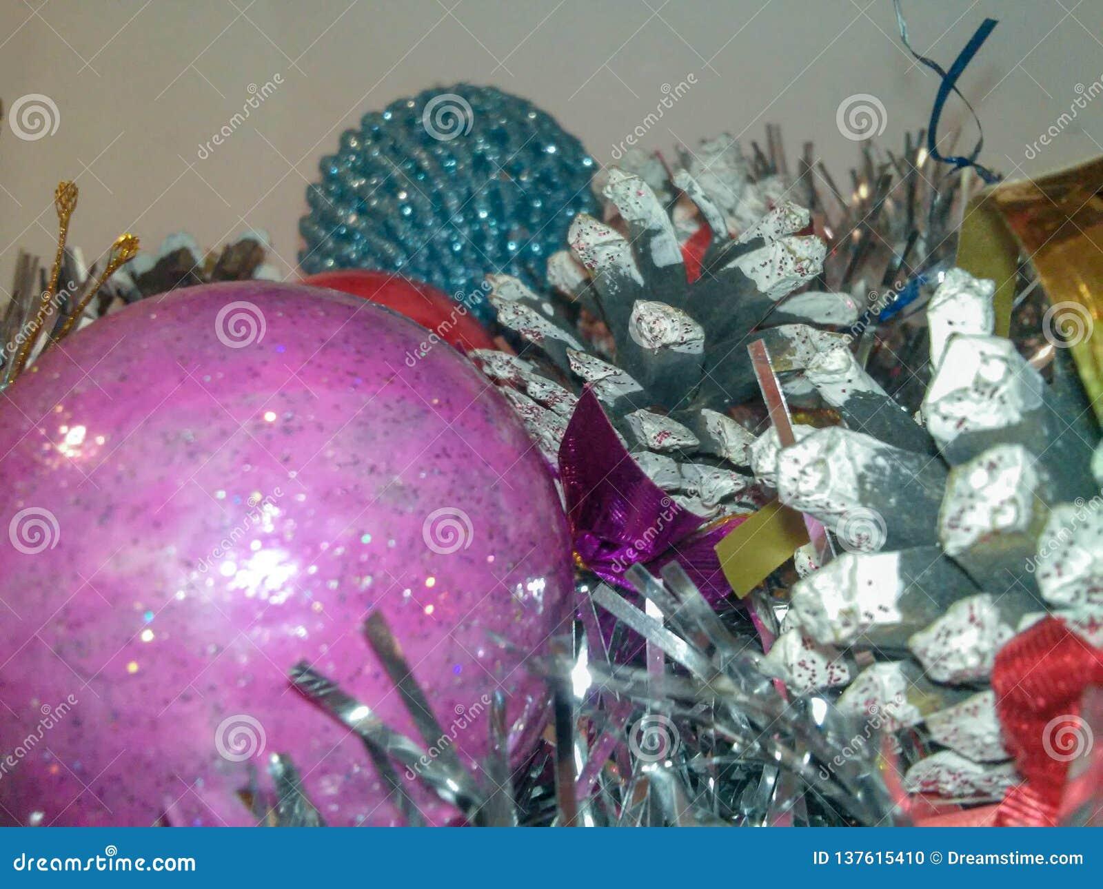 Pinecone de la decoración de la Navidad