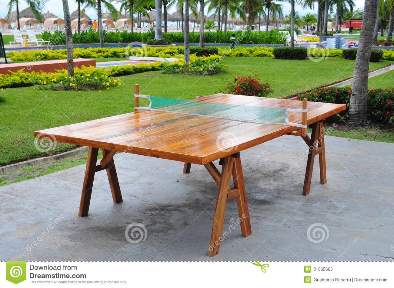 Ping Pong Table Royalty Free Stock Photo - Image: 31065665