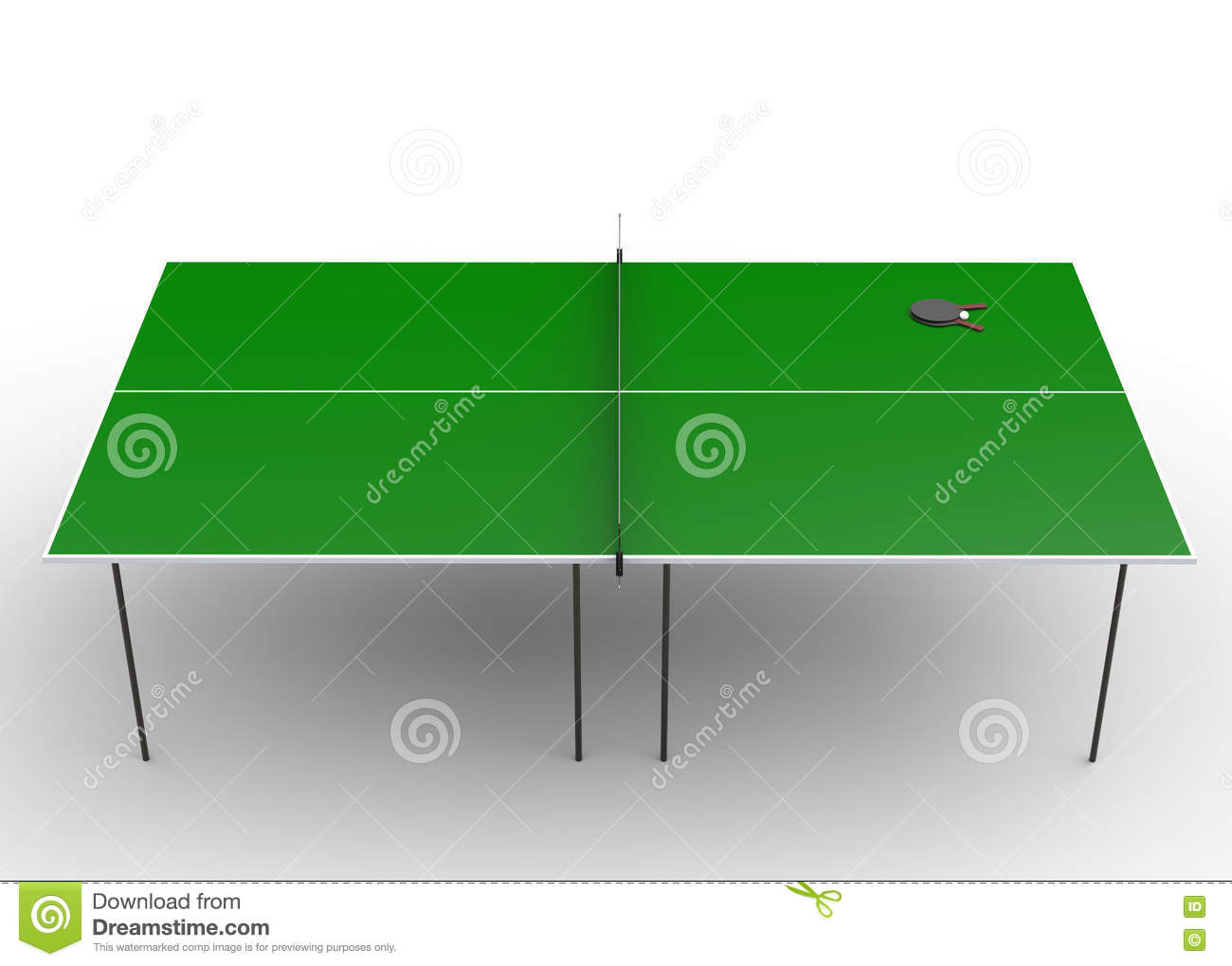 Ping pong table top - Ping Pong Table Top View