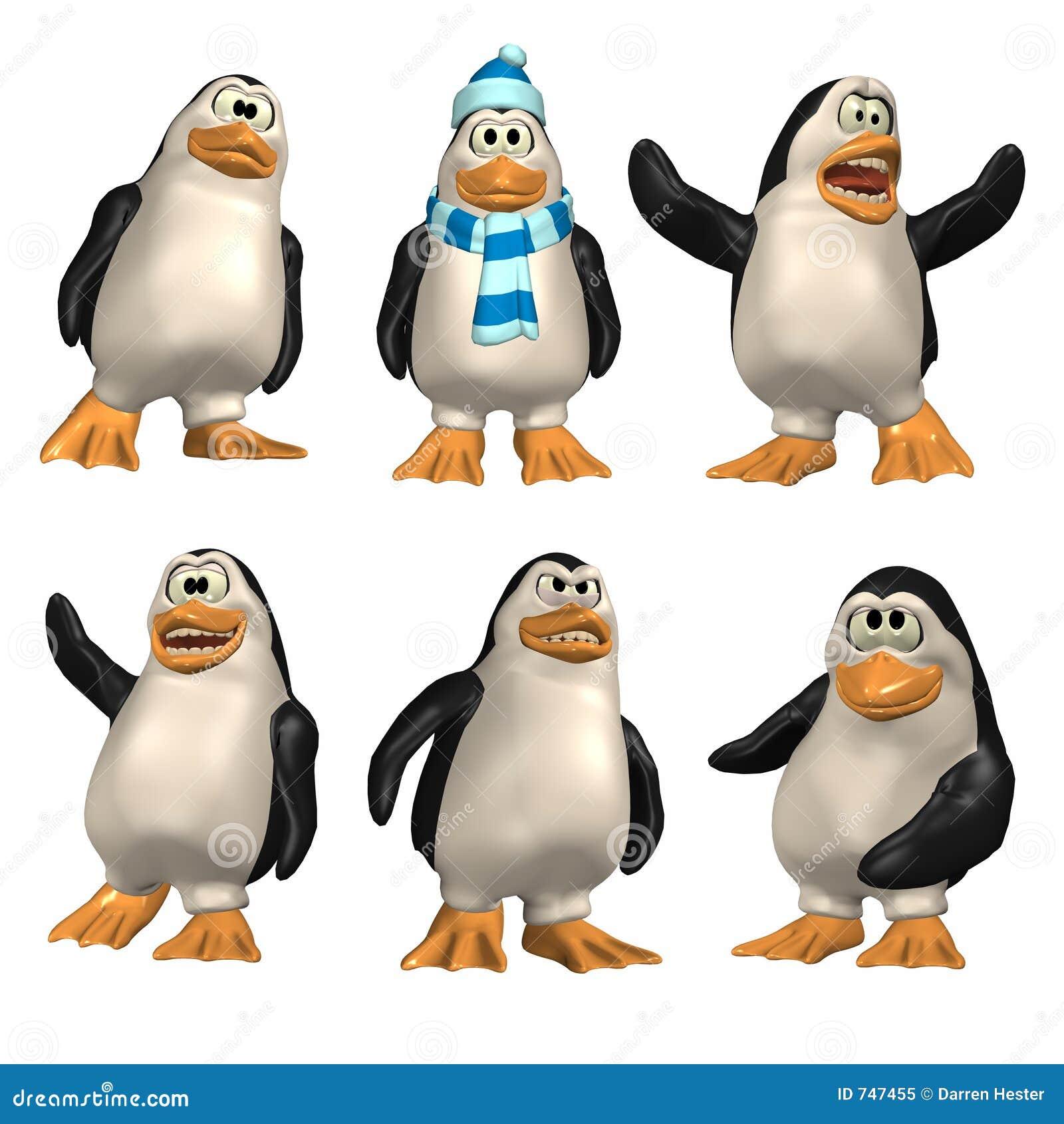 Pingouin de dessin animé