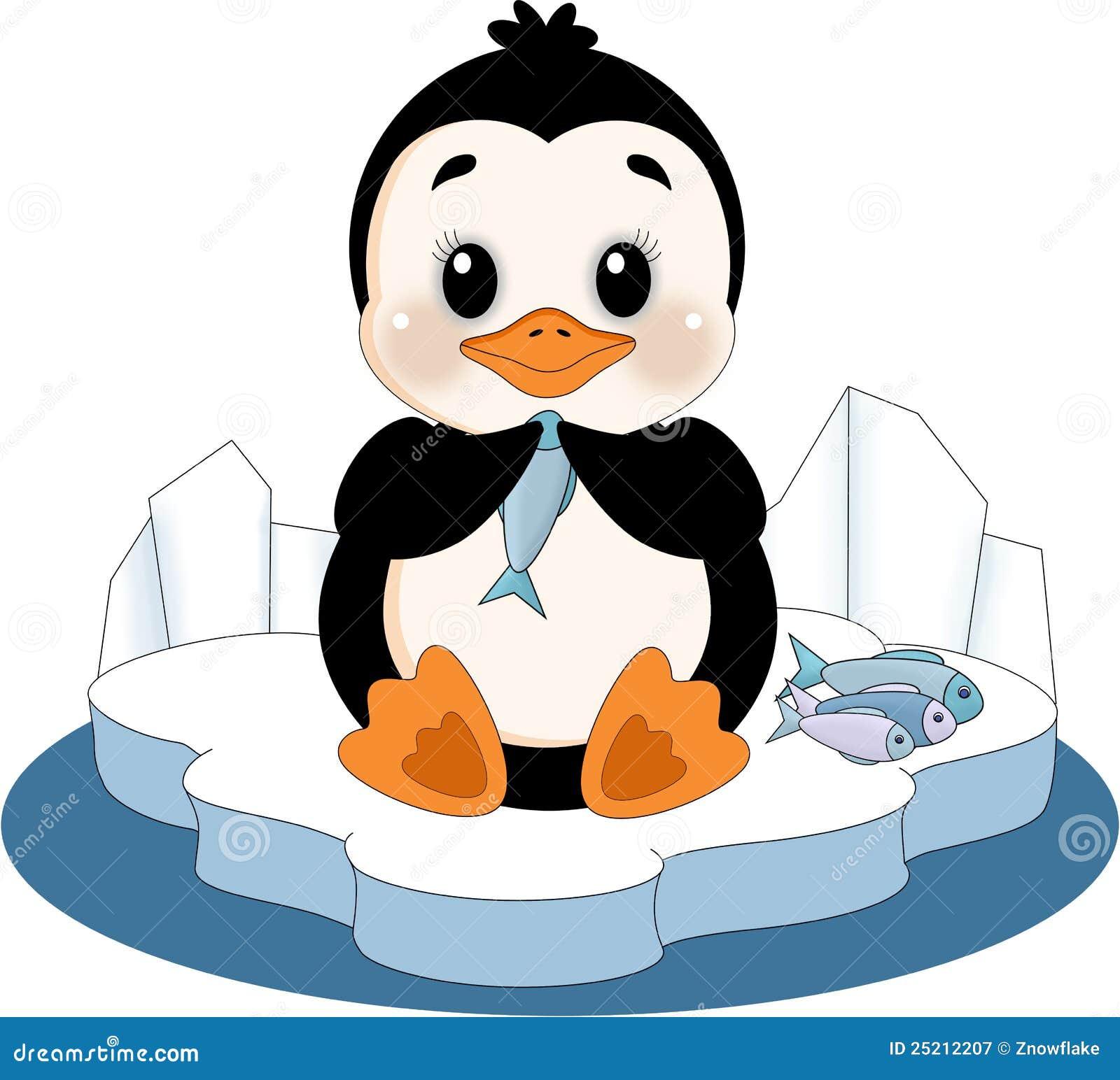 pingouin sur la banquise photographie stock libre de droits image 25212207. Black Bedroom Furniture Sets. Home Design Ideas