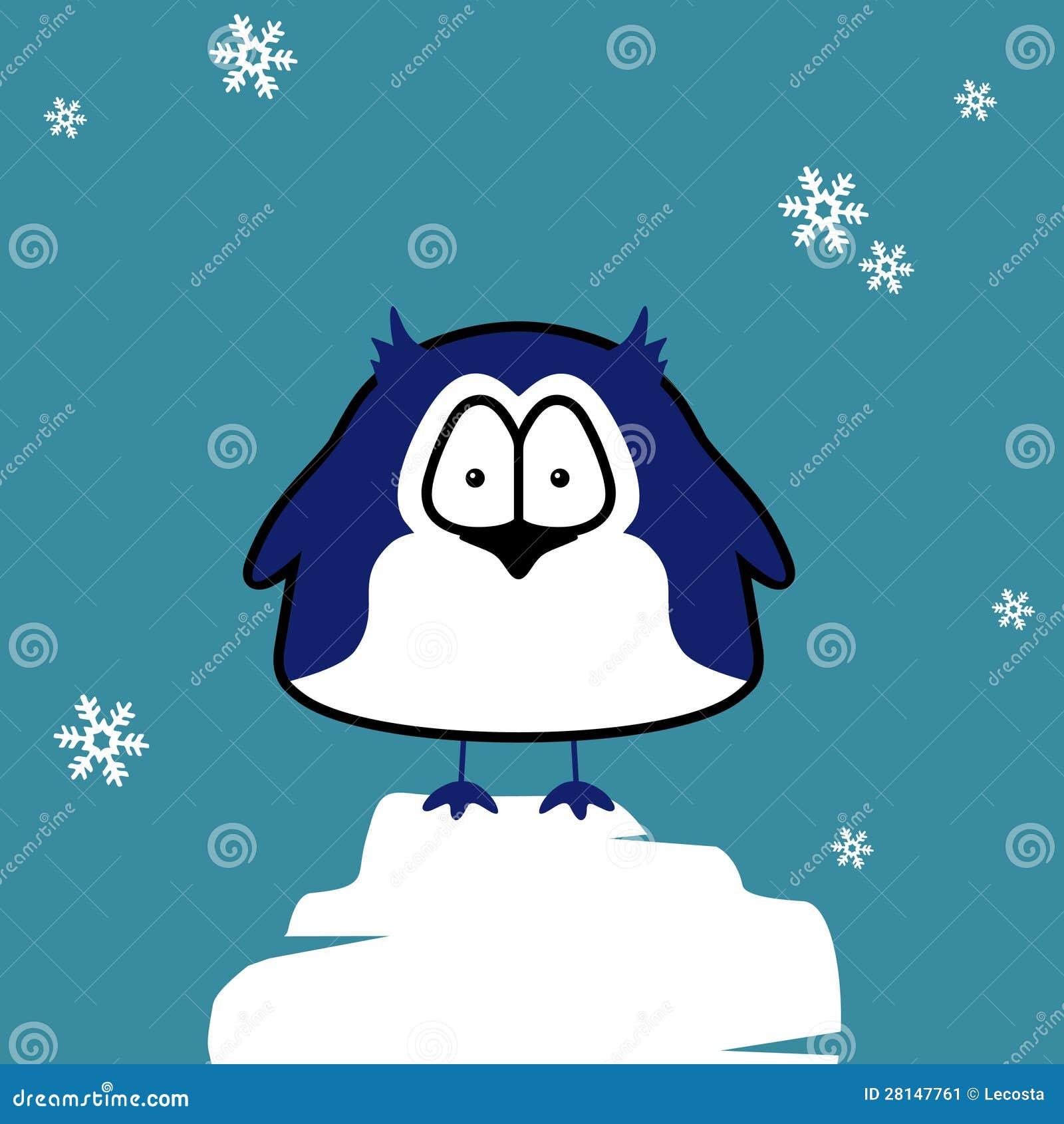 pingouin sur la banquise image stock image 28147761. Black Bedroom Furniture Sets. Home Design Ideas