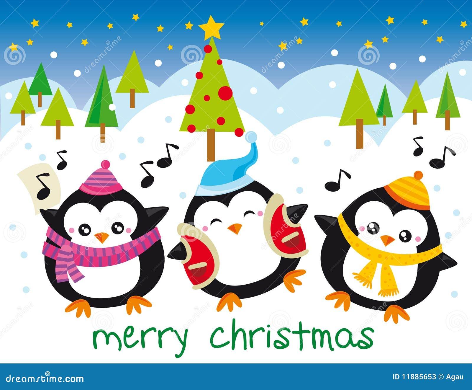 Pingouins de Noël