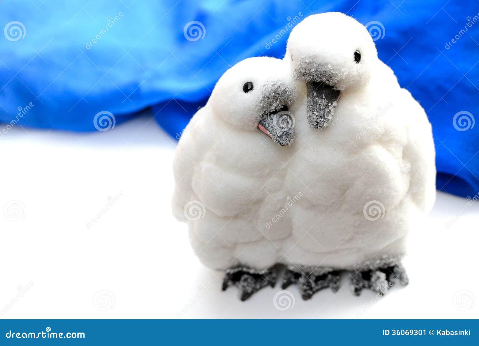 Pinguïnen in liefdeornament
