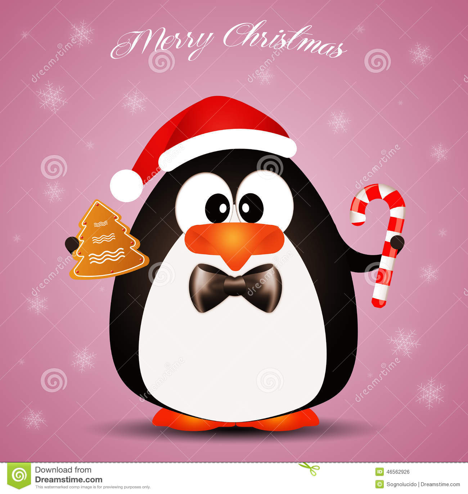 pinguin w nscht frohe weihnachten stock abbildung bild. Black Bedroom Furniture Sets. Home Design Ideas