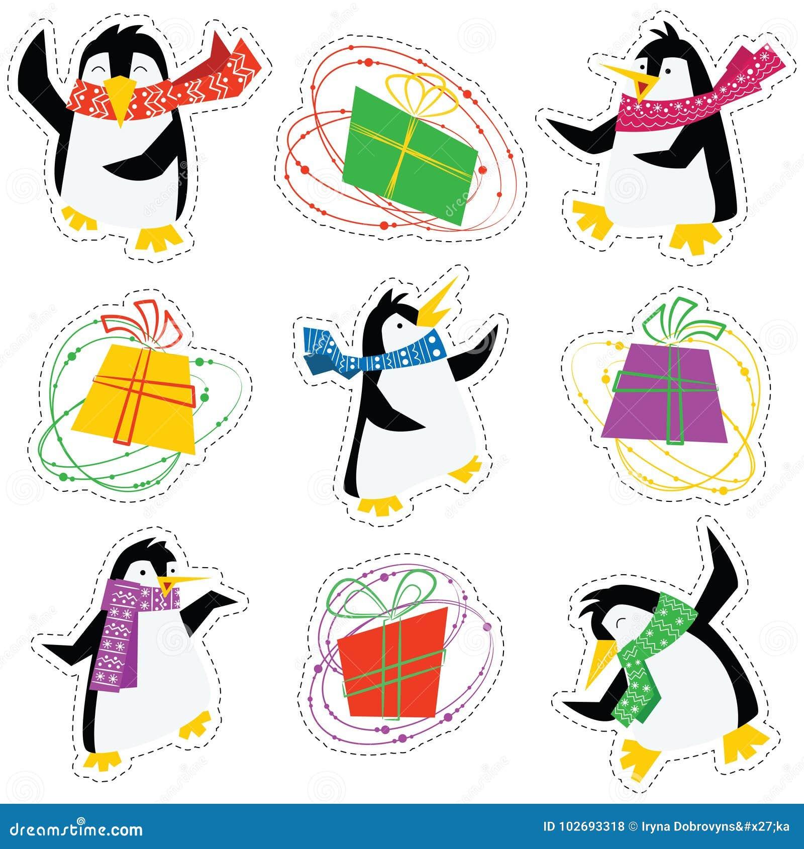 E Contenitori Di Pinguini In Sciarpe Luminose Dancing Natale FHUUxn0Y