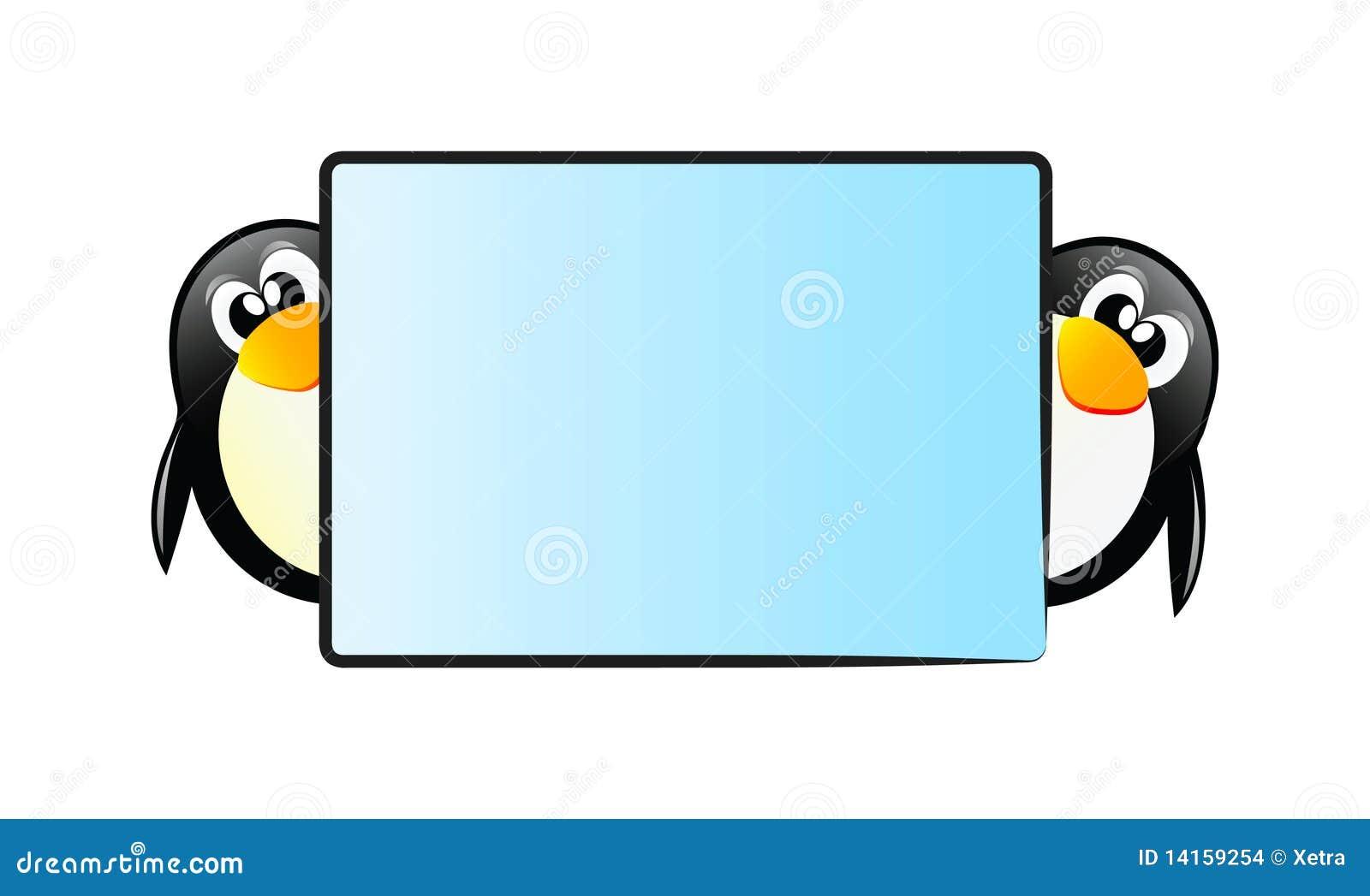 Pinguins com tabela