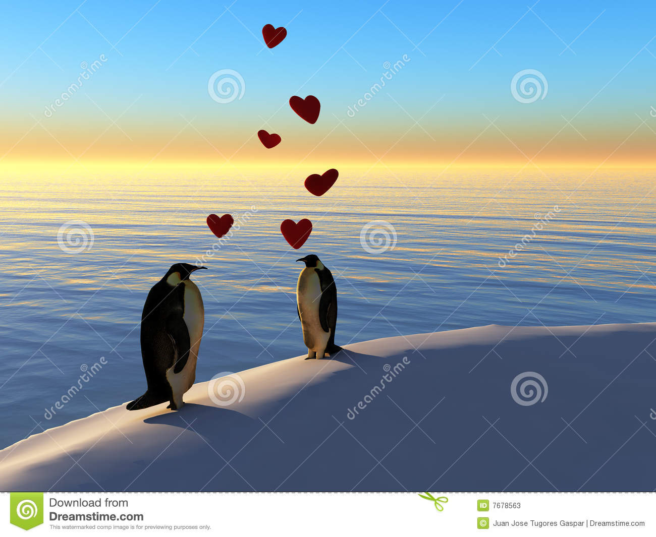 Pinguins no amor