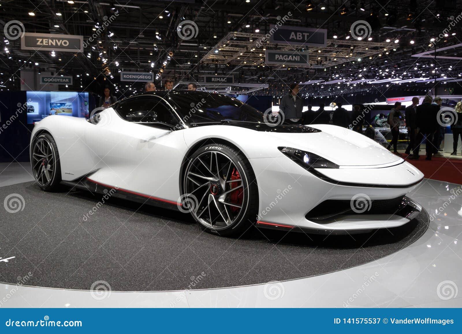 Pininfarina Battista hyper EV sportbil