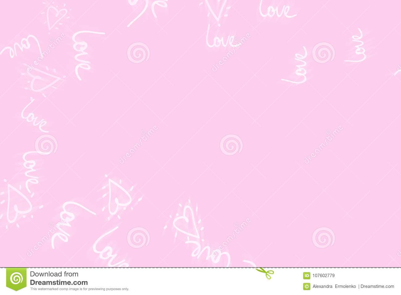 Pink abstract background concept of Valentine`s day