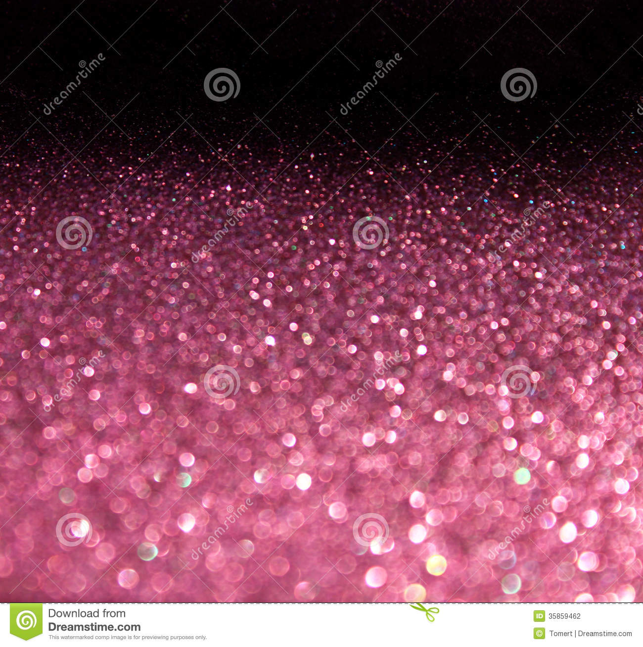 Pink abstract glitter bokeh lights background. defocused lights
