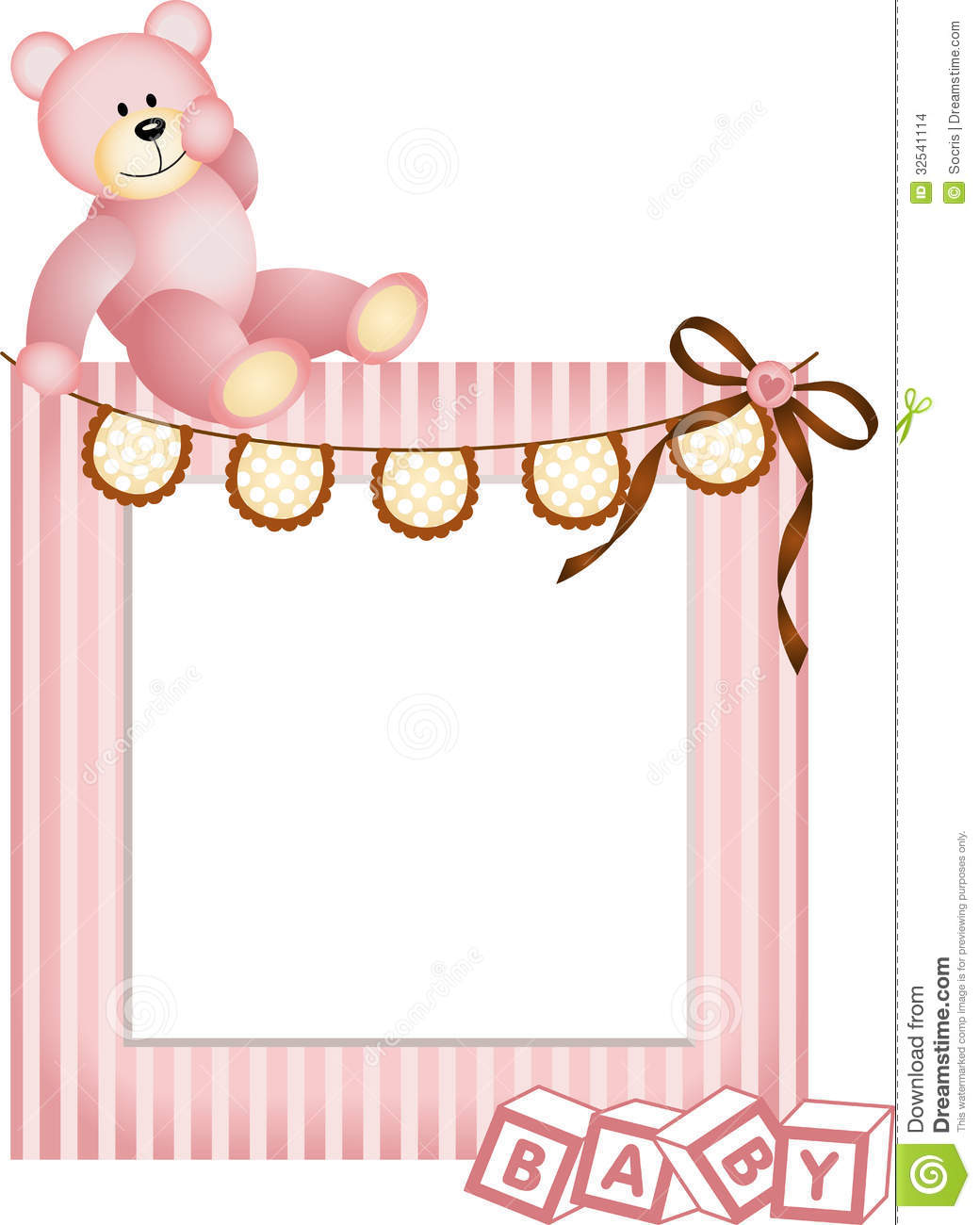 baby teddy bear clip art