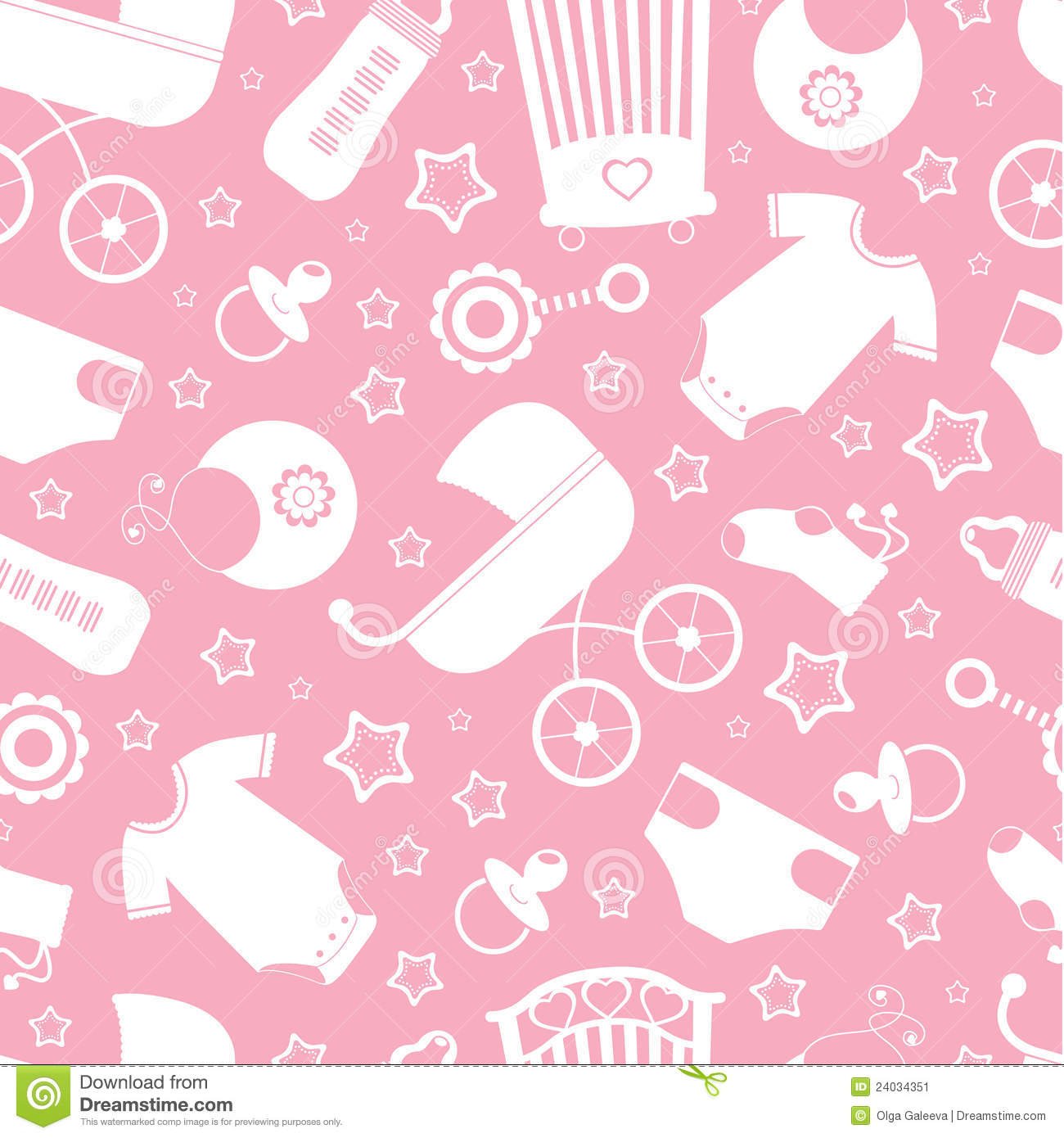 pink baby shower background stock image image 24034351