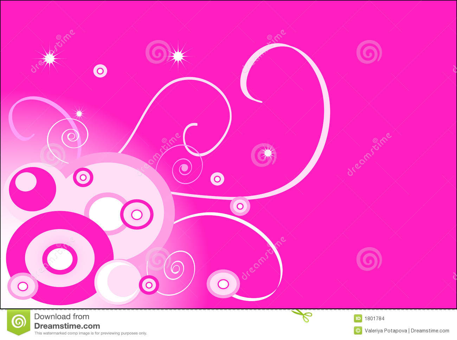 Pink Background Circle Stock Images Image 1801784