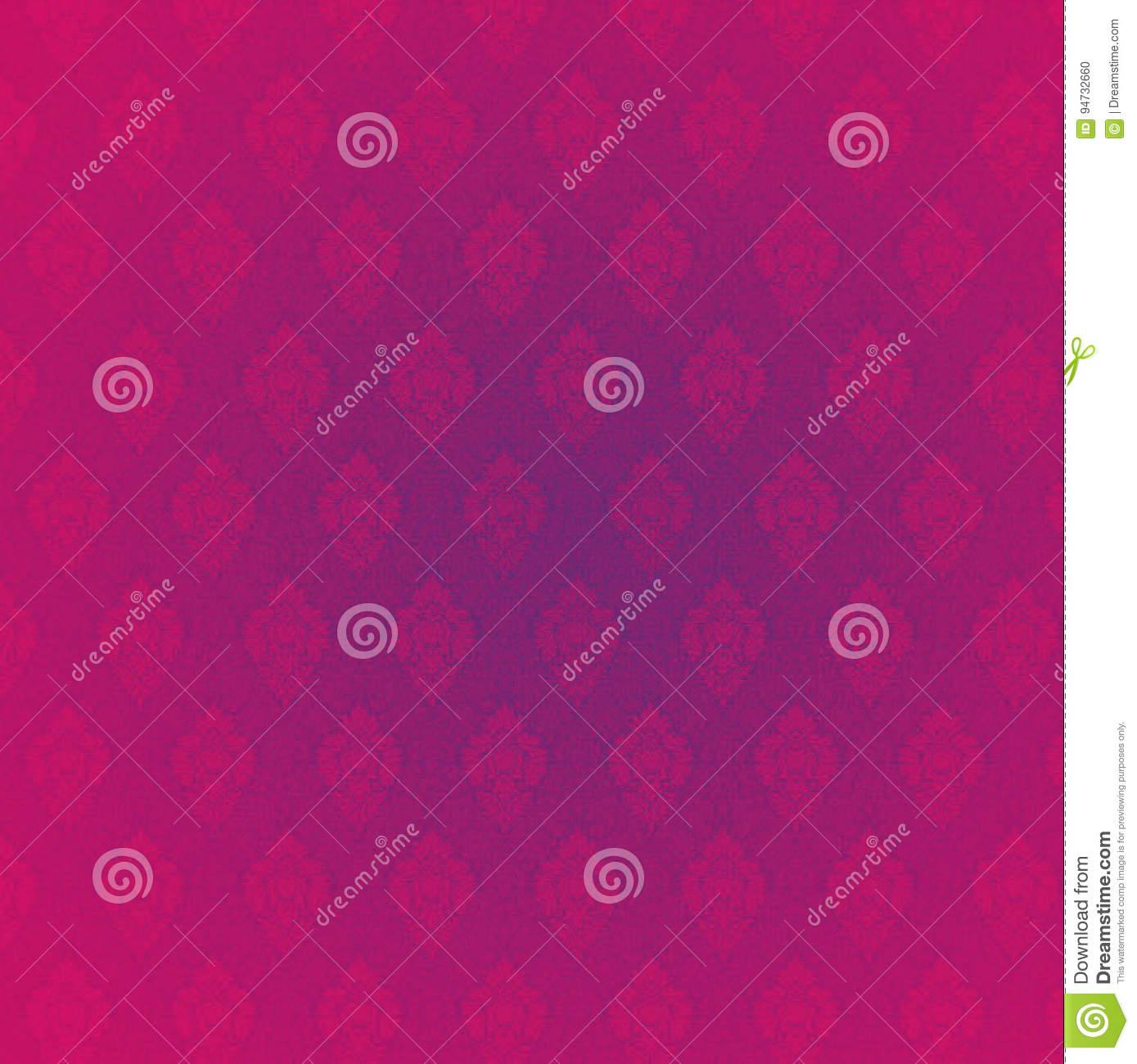 Pink Background Design For Wedding Invitation Card Stock Photo