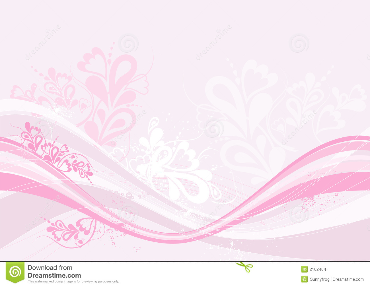 Pink background, vector stock vector. Image of many ...