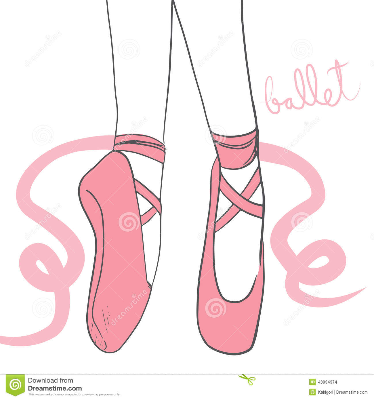 ballerina shoes stock illustrations 1 597 ballerina shoes stock rh dreamstime com ballet pointe shoes cartoon ballet shoes cartoon images