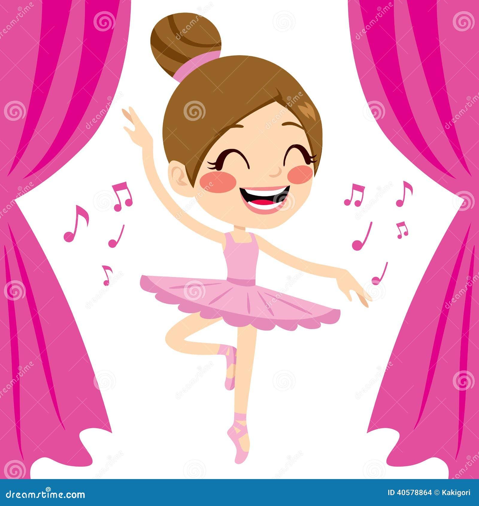 pink ballerina tutu dancer stock vector image 40578864. Black Bedroom Furniture Sets. Home Design Ideas