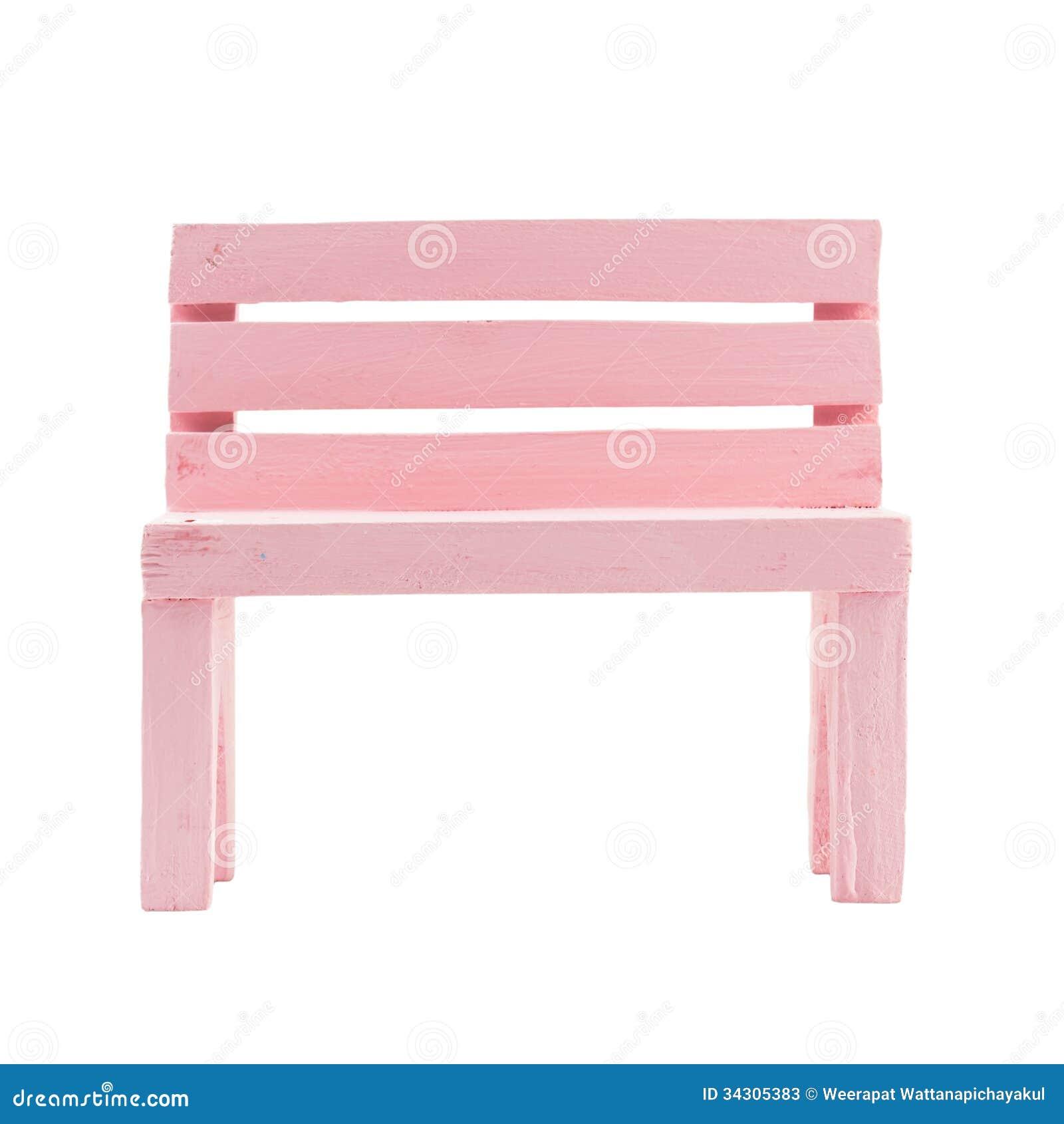 pink bench stock photos  image  - pink bench stock photos
