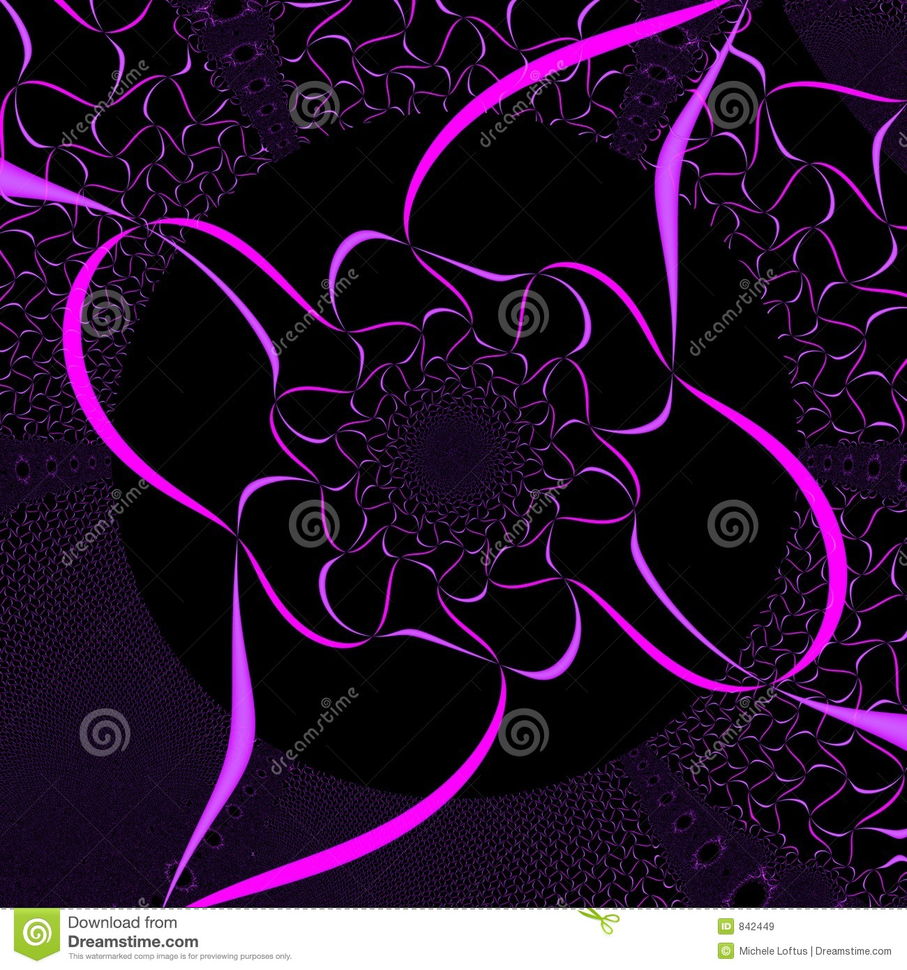 pink and black background