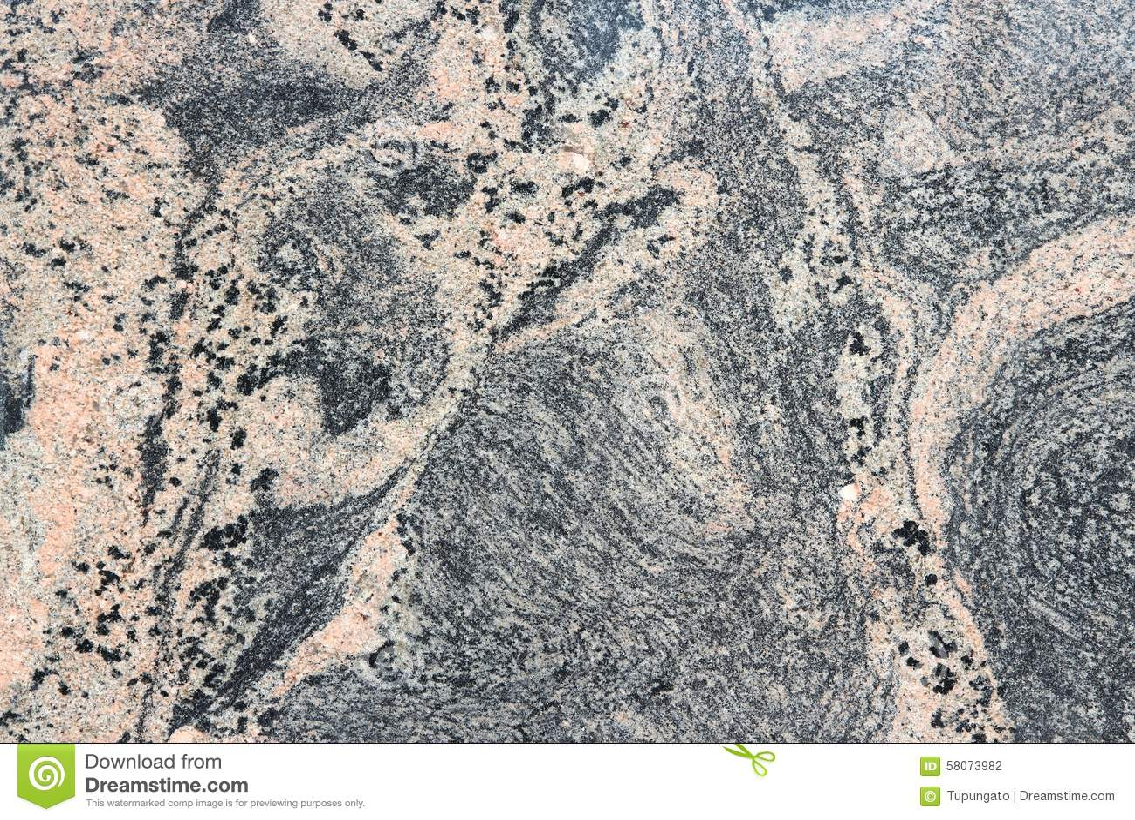 Red And Black Granite : Pink black granite stock photo image