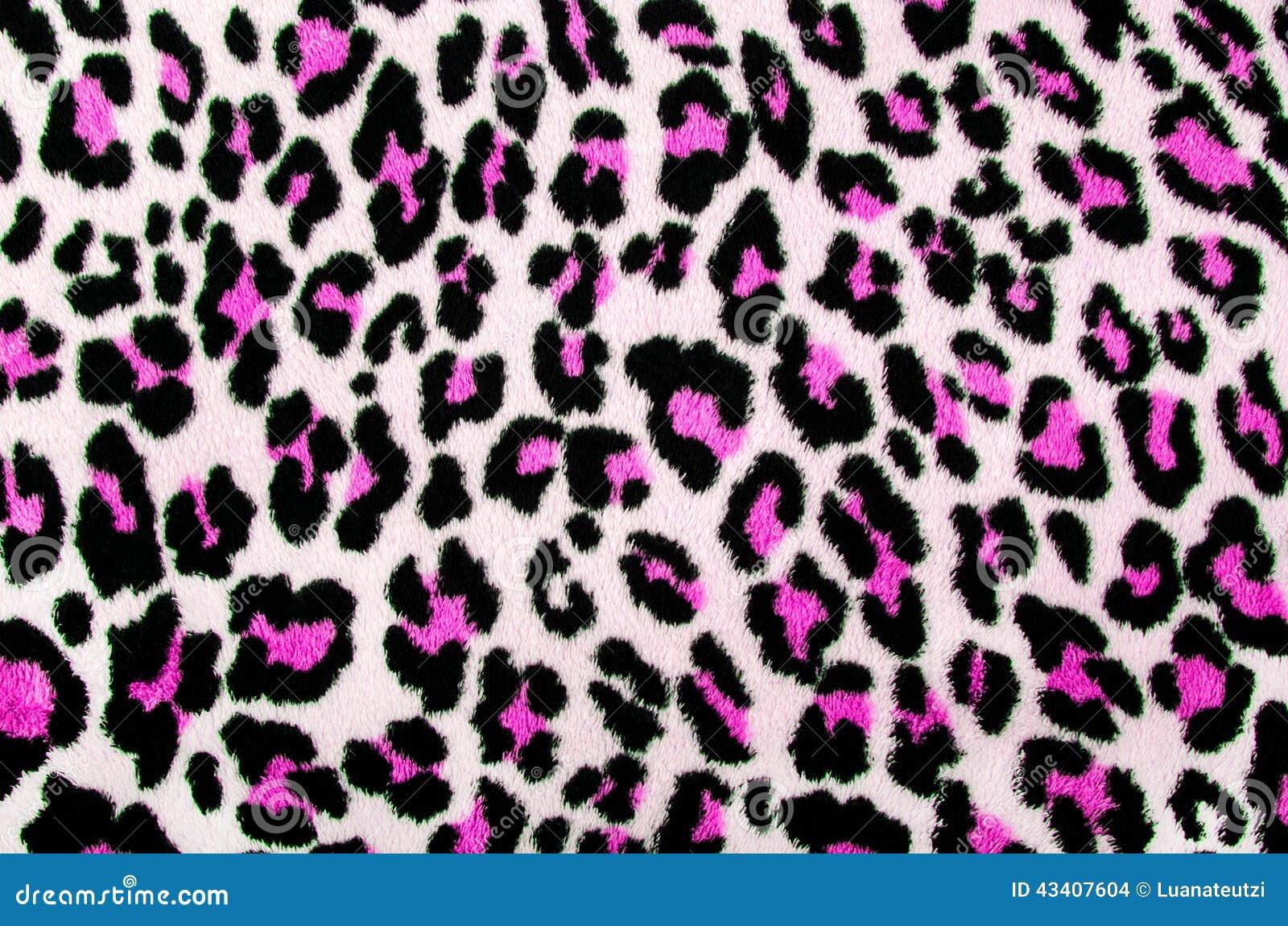 Pink And Black Leopard Pattern. Stock Illustration ... - photo#22