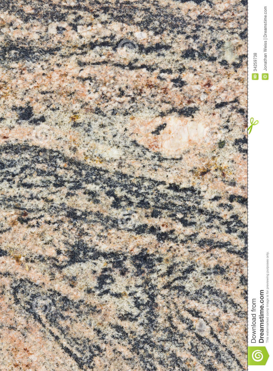 Pink And Black Marble Texture Vertical Stock Photo Image