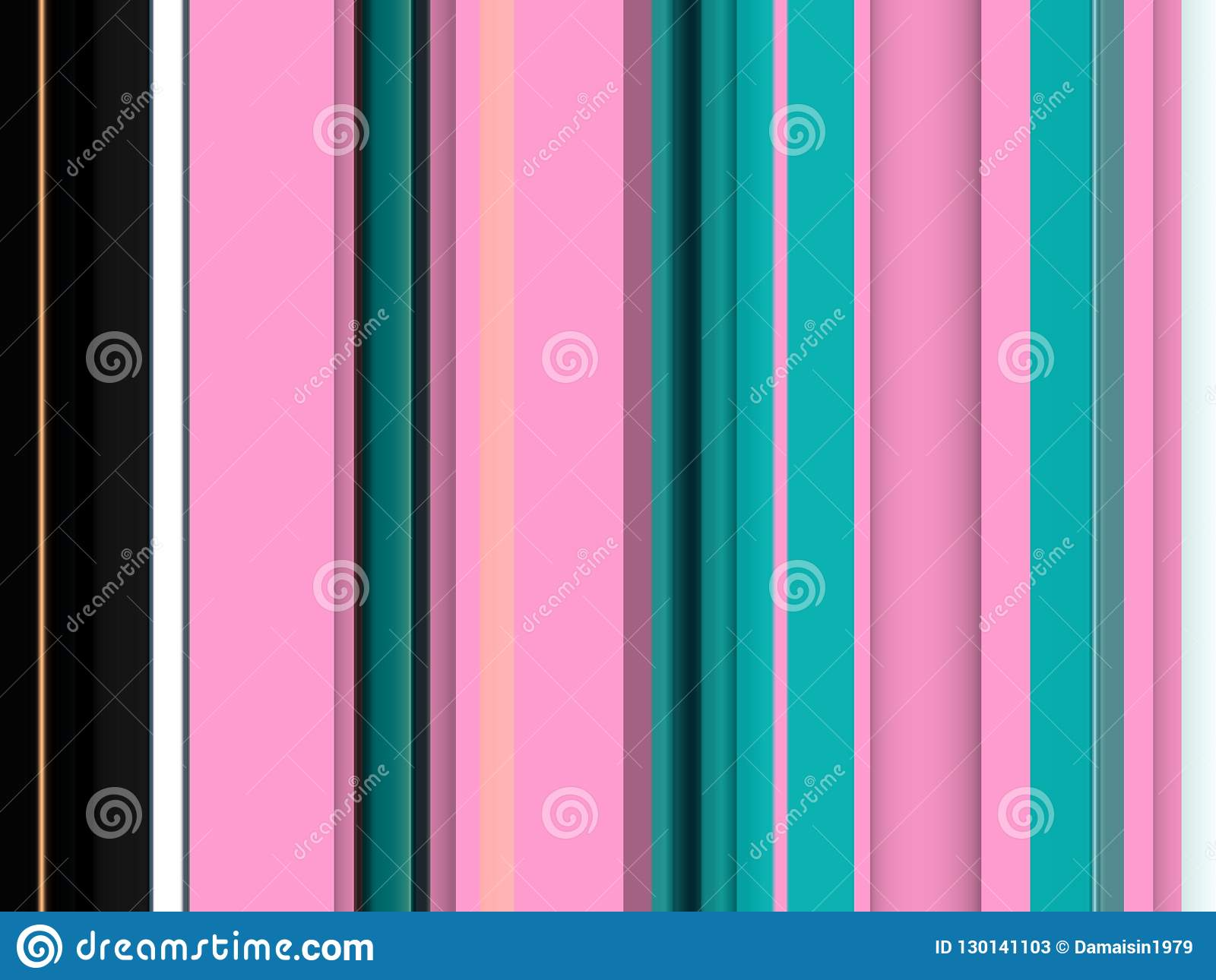 Pink black white lines background, abstract colorful geometries